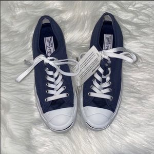 NWT Converse Jack Purcell Navy Sneakers Size 7.5